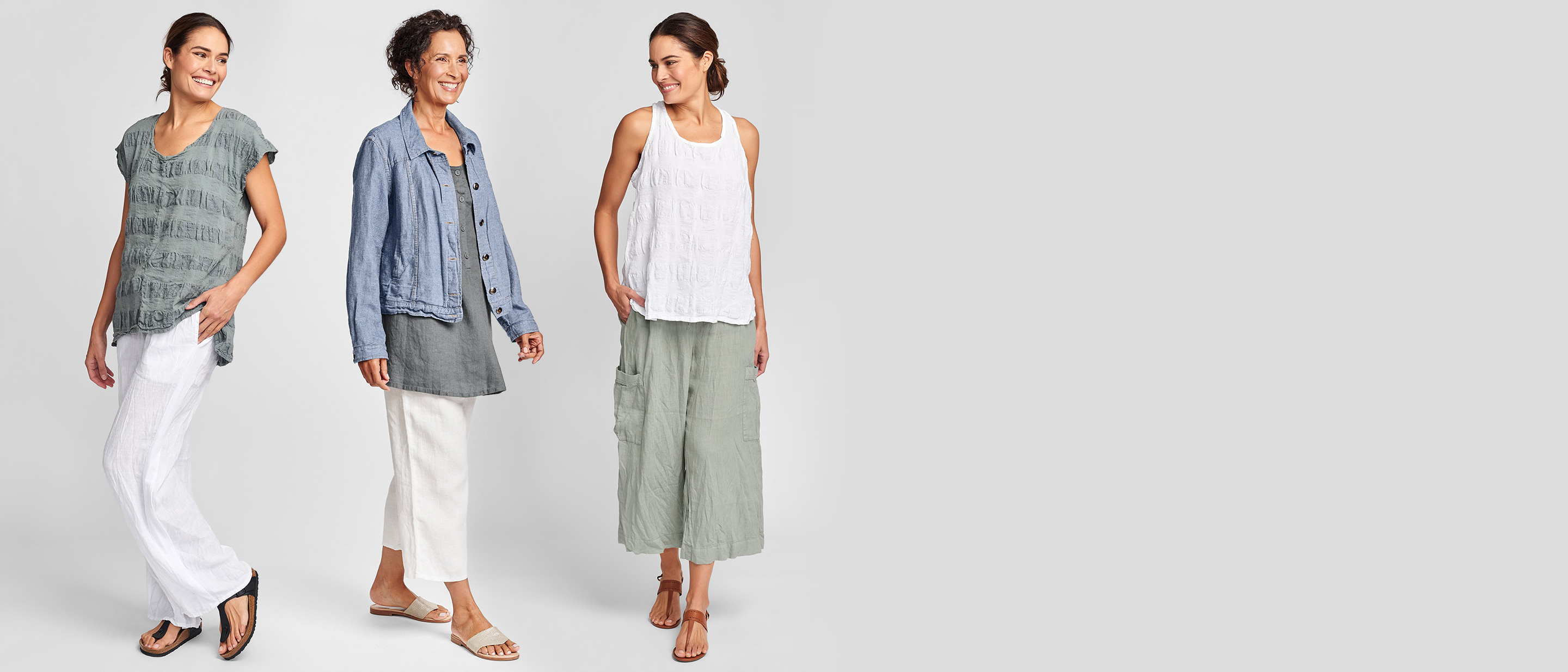 flax women's linen clothing for spring 2021