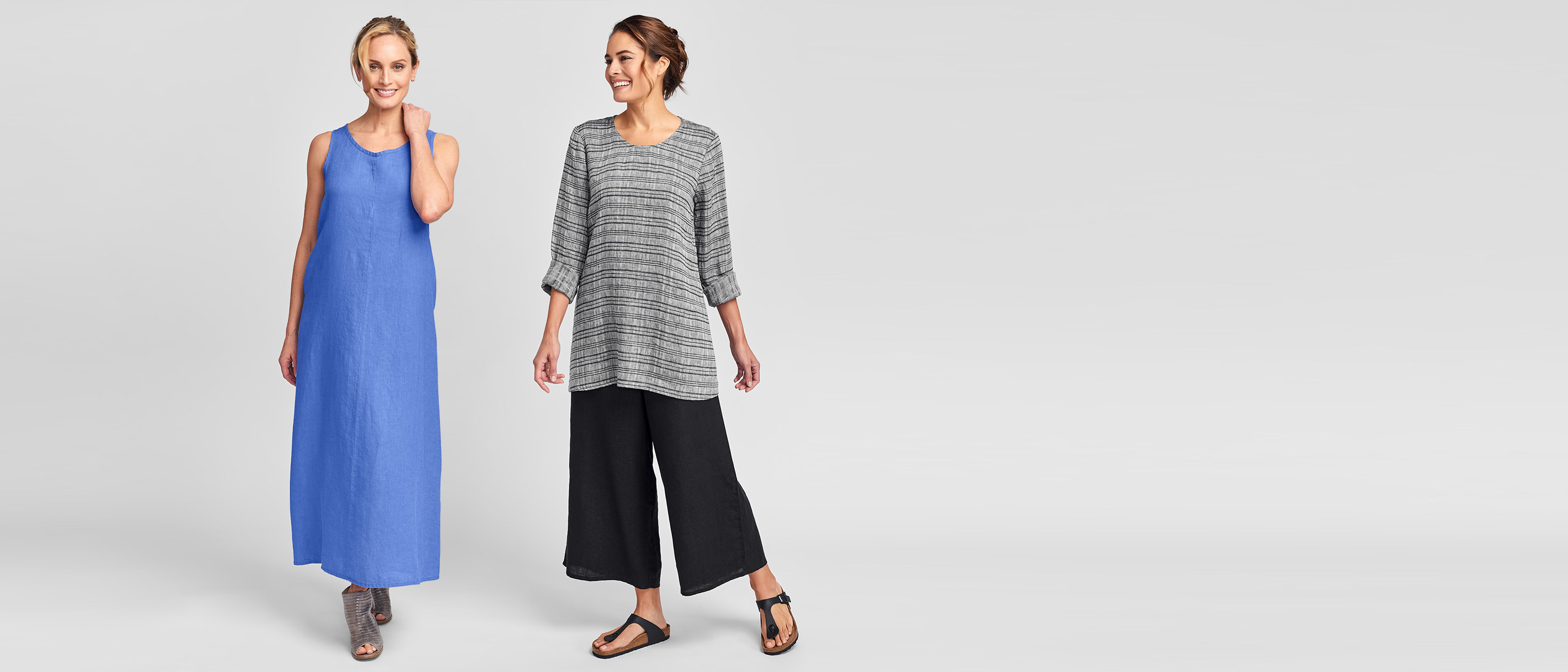 flax women's linen clothing for summer 2021